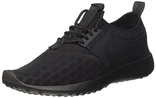 46dce7b079e9d Nike Women's Juvenate Low-Top Sneakers, Black (Black/Black White),