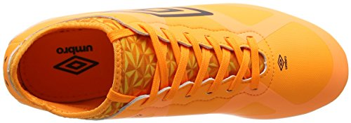 Umbro Velocita Iii Premier Hg, Scarpe da Calcio Uomo Arancione (Elz Orange Pop/Black)