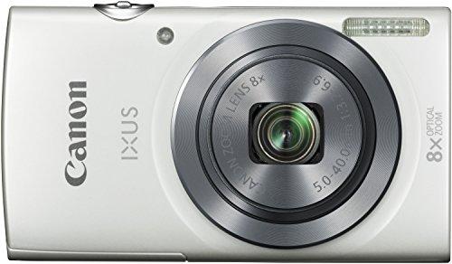 Canon IXUS 160 Digitalkamera (20 MP, 8-fach optisch, Weitwinkel-Zoom, 16-fach ZoomPlus, 6,8cm (2,7 Zoll) LCD-Display, HD-Movie 720p) weiß -