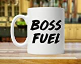 Tazza caffè Mug Boss Mug, Gift For Boss, Boss Fuel, Funny Boss Gift, Boss Gift, Boss Mugs, Mug For Boss, Boss Coffee Mug, Boss Coffee Cup, Boss Present