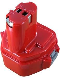 Batterie pour MAKITA 6313D, Haute capacité, 12.0V, 3000mAh, Ni-MH