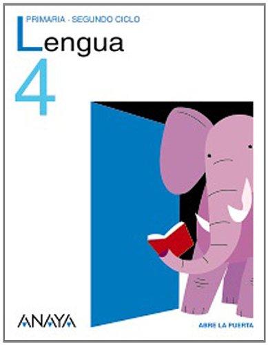 Lengua 4. (Abre la puerta) por Carmen Bello Crespo