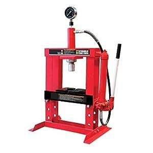 Wolf 10 Ton Hydraulic Workshop Garage Shop Press Bench Top
