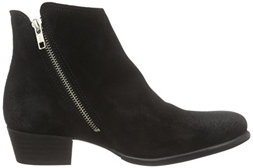 Sofie Schnoor Low boot w.side zipper, Bikers non imbottiti, corti donna Nero (Nero (nero))