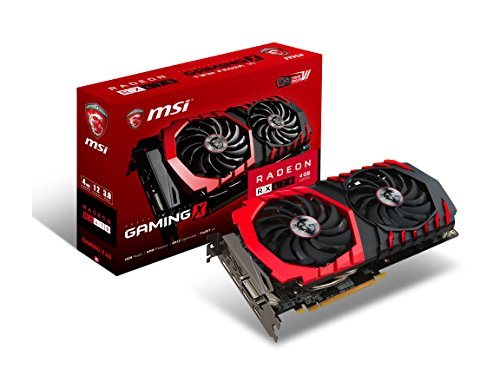 MSI RX470 Gaming X 4G Carte Graphique AMD Radeon RX470 1242 MHz 4 Go PCI Express x16 3.0