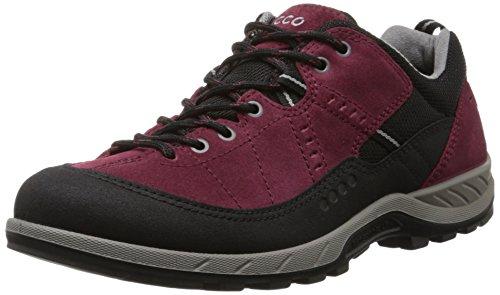 Ecco Ecco Yura Ladies, Chaussures de fitness outdoor femme Rouge - Rot (BLACK/MORILLO)