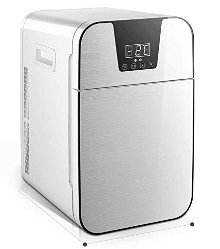 WANGPING Doppeltüriger Dual-Core-Auto-Minikühlschrank Kleines Wohnheim Für Studenten Mit Doppeltem Verwendungszweck Gekühlt,B