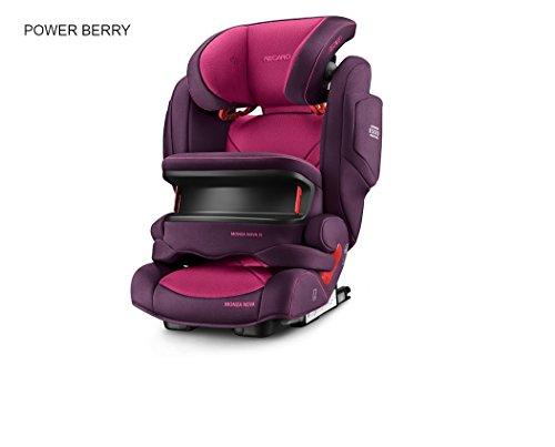 Recaro 6148.21508.66Seggiolino Auto Monza Nova IS Seatfix, Power Berry