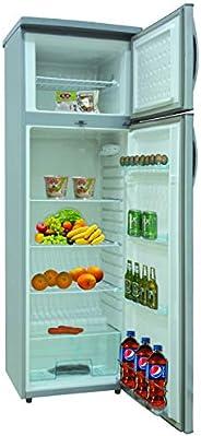 Nikai 320 Liters Double Door Defrost Refrigerator, NRF320DN3M, 1 Year Warranty