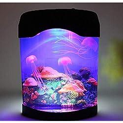 Gearmax® LED aquarium avec Méduses ,éclairage de l'aquarium,aquarium led d'éclairage,Cadeaux créatifs,Lumière de nuit