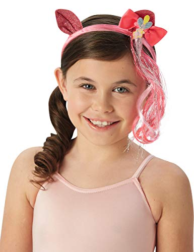 Hasbro i-33898-Haarreif Strähne-Pinkie - Pinkie Pie Kinder Kostüm