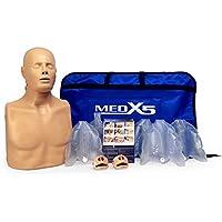 Medx5 2in1 HLW Übungspuppe für Wiederbelebung, Trainingspuppe für Erste Hilfe Training, Reanimationspuppe, Wiederbelebungspuppe... preisvergleich bei billige-tabletten.eu