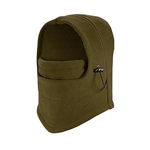 WSLCN Unisex Adult Unisex Kinder Sturmhauben Einfarbig Mask Hood Dicke Warm Atmungsaktiv Mützen Winddicht Multifunktions Hut
