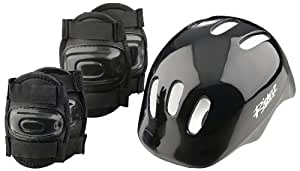 Riderz Boys' Bike Helmet and Pads Set