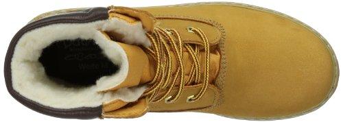 Däumling Jungen Timmy St-Andi-Aspen Kurzschaft Stiefel gefüttert 080031M Braun (Aspen natur 66)
