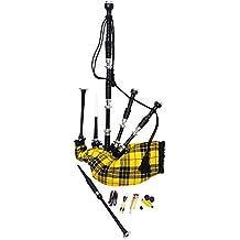 Tartan City NUEVO Heritage de escocés macleodplayable Gaitas con puntero y cañas en diferentes Tartan