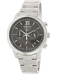 Seiko Herren-Armbanduhr Chronograph Quarz Edelstahl SSB139P1