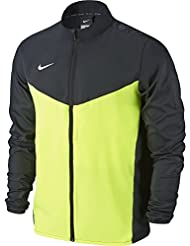Nike Team Performance Shield Jkt Chaqueta, Hombre, Negro / Verde / Blanco (Black / Volt / White), 2XL