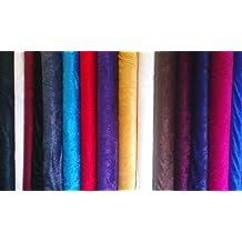 Tela de terciopelo - Varios colores