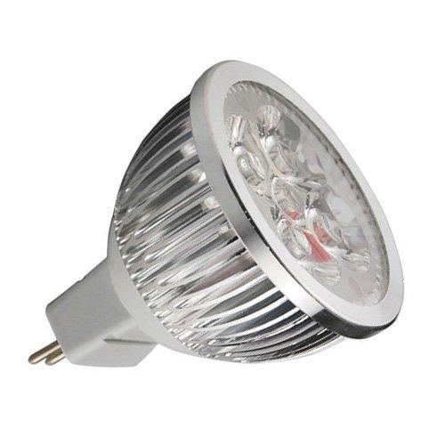 Thg 4x Energy Efficient MR16Day/cool White 6W LED CE RoHS lampadina faretti lampade per illuminazione (Acquario Light Fixtures)