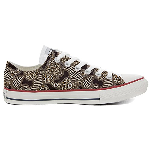 Converse All Star Chaussures Coutume (produit artisanal) Jungle