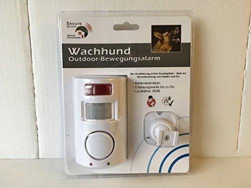 Katzenvertreiber Hundegebell Bewegungsmelder für aussen ca. 5m Reichweite Lautstärke ca. 90dB