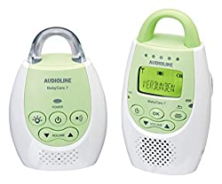 Audioline Baby Care 7 baby monitor with digital, noise-free radio transmission