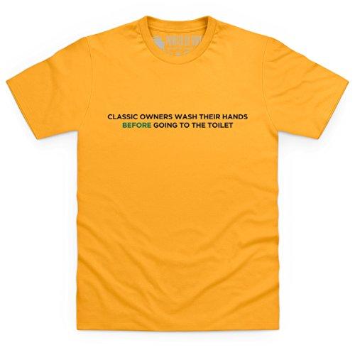 Classic Owners T-Shirt, Herren Gelb