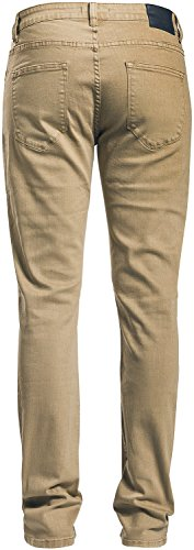 RED by EMP Jared (Slim Fit) Pantaloni ocra Ocra