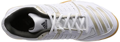 adidas  Essence 12, Chaussures de handball femmes Blanc (ftwr White/tech Met. F15/cinder)