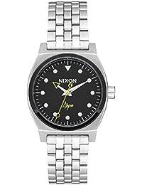 Nixon Femmes Analogique Quartz Montre avec Bracelet en Acier Inoxydable A1130-2971-00