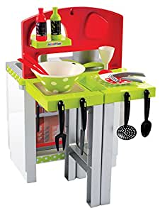 Ecoiffier Modular Kitchen, Multi Color