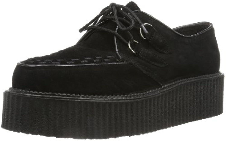 Pleaser CREEPER-402S EU-CREEPER-402S/B - Zapatos para hombre -