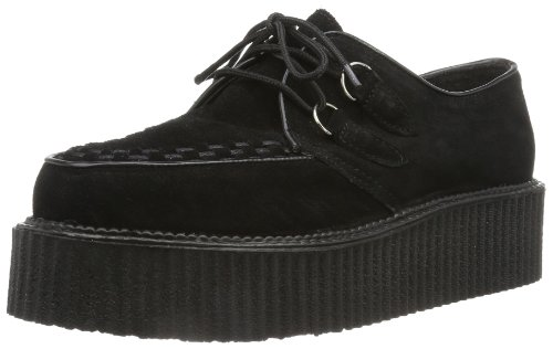 Pleaser CREEPER-402S EU-CREEPER-402S/B - Zapatos para hombre - Negro (Schwarz (Schwarz)) - 39 EU (6 UK)