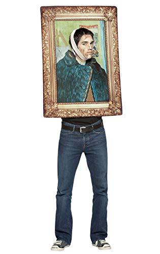 Rasta Imposta Van Gogh - Photo Frame - Adult Kostüm