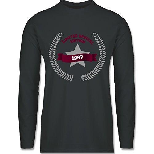Geburtstag - 1997 Limited Special Edition - Longsleeve / langärmeliges T-Shirt für Herren Anthrazit