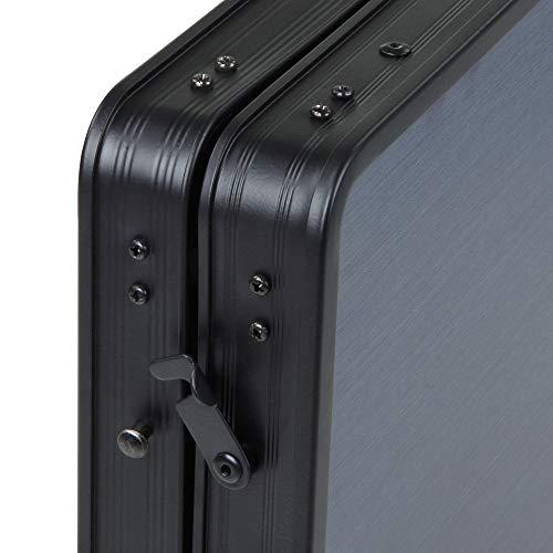 10T Campingschrank Flapbox 6 Fächer Schrank klappbare Campingküche Kofferschrank mit Faltmechanismus