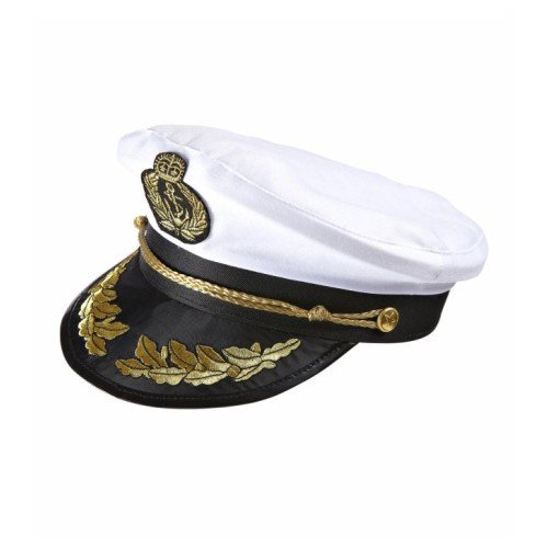 tänsmütze Kreuzfahrt Schiff Seemann Captain Käpt'n Cappello (Schwarze Und Weiße Kostüme Themen)