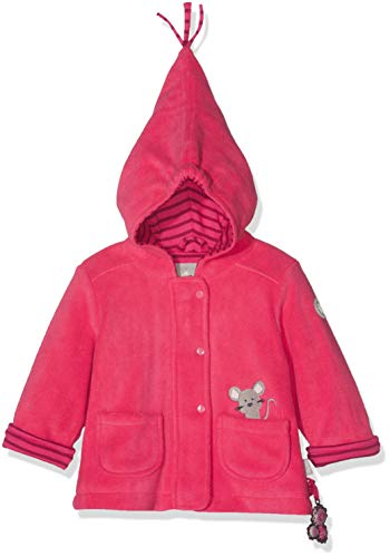 Sigikid Mädchen Jacke Fleece, Baby, Rot (Raspberry Sorbet 678), 92