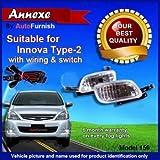 #7: Autofurnish Fog Light Lamp With Wiring For Toyota Innova Type 2 (Set Of 2)