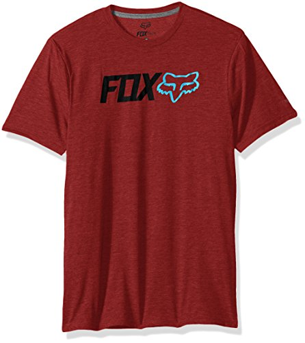 Fox Herren T-shirt Obsessed Ss Tech Tee Rot