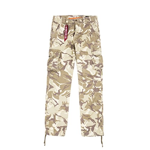 Alpha Industries Jet Hose Camouflage 34 Label Casual Pants