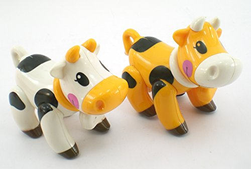 Farm Cow Baby Animal Articulated Play Toy ONE TOY
