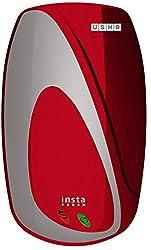 Usha Instafresh 3-Litre 3000-Watt Instant Water Heater (Wine Silver)