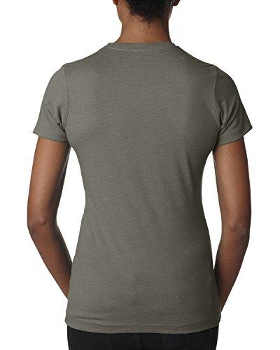 Next Level -  T-shirt - Donna Grigio caldo