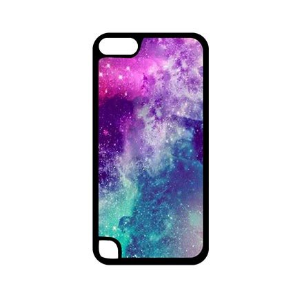 Picturesque Colorful Nebula Hard Plastic Case Protector for iPod Touch 5 Generation 5th, Custom ipod 5 Hard Shell Casing For Women