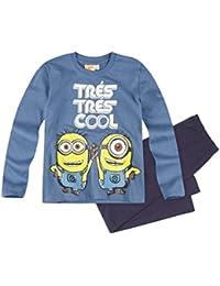 Minions Despicable Me Chicos Pijama 2016 Collection - Azul marino
