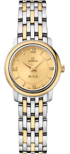 Omega de Ville Prestige reloj de mujer de cuarzo 424,20,24,60,08,001