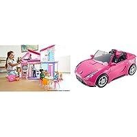 Barbie- La Nuova Casa di Malibu, Playset Richiudibile su Due Piani con Accessori, 61 cm, Giocattolo per Bambini 3+ Anni…