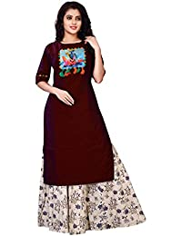 Dhruvi Trendz Women's Clothing Kurti For Women Latest Design Party Wear Collection (4G-VPAP-L3RX)